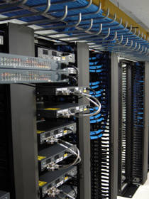 Data Cabling Houston | Eite DataComm Solutions, Managed IT Services | Networking Hub/Server